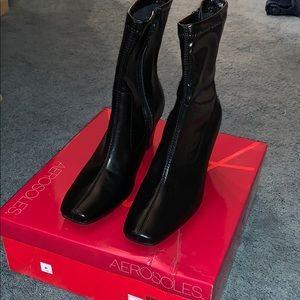 Brand new aerosoles bootie heels